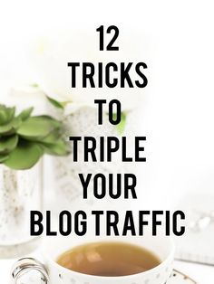 12 Tricks to Boost Your Blog Traffic!