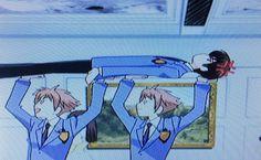 Hikaru needs to watch where he puts his hands.