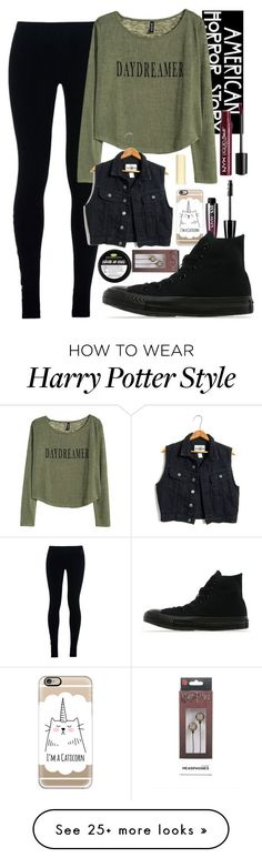 """Untitled #767"" by bree-rayne5sos on Polyvore featuring NIKE, H&M, Casetify, Eos, NYX and Converse"