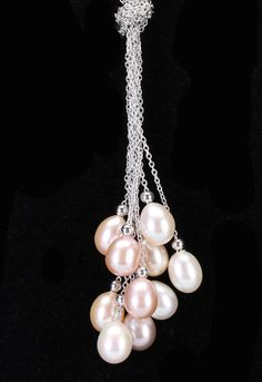 Splendid Pearls 7-8mm Pearl & Chain Pendant Necklace In Multicolor