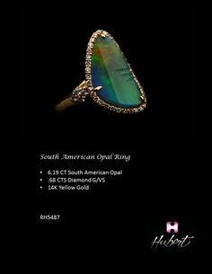 RH5487- South American Opal Ring