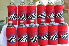 Items similar to Custom Personalized Monogrammed Cheer Megaphone Water Bottle Koozie on Etsy Cheer Megaphone, Football Cheer, Baseball, Cheer Gifts, Cheer Mom, Cheer Stuff, Camping Gifts, Dance Moms, Water Sports