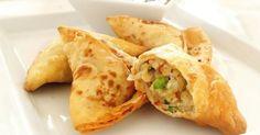 Samoussas végétariens à l'indienne | Cuisine AZ