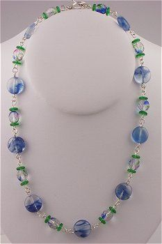 IDEA: Blueberry Necklace (eebeads.com)  ~ FREE INSTRUCTIONS