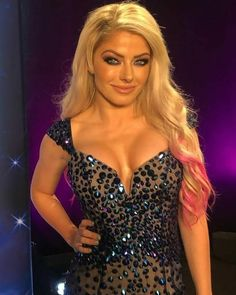 Who do you y'all want Alexa to feud with? Wrestling Divas, Women's Wrestling, Alexis Bliss, Lexi Kaufman, Wwe Girls, Celebrity Dresses, Amazing Women, Beautiful Women, Beautiful Celebrities