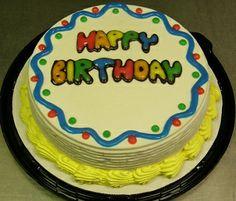 Birthday Bubble DQ Dairy Queen Ice Cream Cake