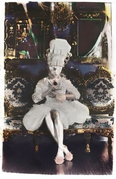 Rococo Inspired ~ Photography by Paulina Otylie Surys. S)
