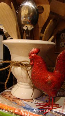 I like the utensil holder.....roosters are growing on me but I haven't bought one as of yet.