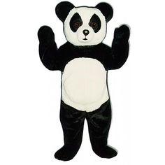 233-Z Big Toy Panda - Team-Mascots.  See more panda bear mascot costumes at:  http://www.team-mascots.com/bear-mascot-costumes/panda-233
