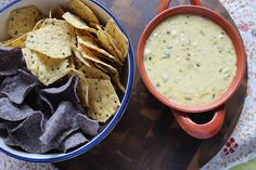 Spicy Tortilla Crisps With Queso Fundito From 'Salty Snacks' Recipe ...