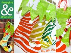 Free pattern: Curly toed elf stockings | Sewing | CraftGossip.com
