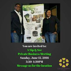 Join us this Sunday for 1 hour and find out what Fred and I have found, that has been a blessing not only to our lives, but other's lives that we have personally touched.  Inbox us for the address.