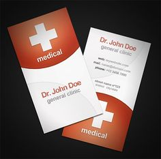 Medical Business Cards Make Your Own Business Card With This