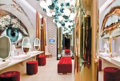 best women's restroom in Vanity Nightclub at Hard Rock LV