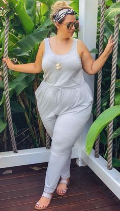 47 Casual Plus-Size Summer Fashion Ideas For Beauty Look - Mode Outfits Plus Size, Dress Plus Size, Plus Size Jeans, Plus Size Womens Clothing, Curvy Outfits, Size Clothing, Clothing Sites, Tankini, Plus Size Summer Fashion