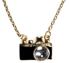 Quirky Vintage Camera Necklace, Fun & kitsch jewellery, Funky necklace UK seller