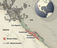 Two murders a day, horrific kidnappings and even the police don't dare enter: Inside the ghost towns of Mexico's 'Murder Valley' - one of the deadliest places on earth  Read more: http://www.dailymail.co.uk/news/article-2916766/Two-murders-day-horrific-kidnappings-police-don-t-dare-enter-Inside-ghost-towns-Mexico-s-Murder-Valley-one-deadliest-places-earth.html#ixzz3PUoph5C7 Follow us: @MailOnline on Twitter   DailyMail on Facebook