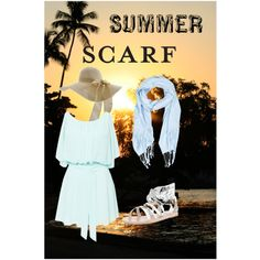 Summer Scarf uploaded by on ShopLook Summer Scarves, Polyvore, Outfits, Women, Suits, Kleding, Outfit, Outfit Posts, Clothes