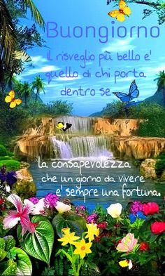 buongiorno Good Morning Gif, Good Morning Messages, Italian Greetings, Italian Life, Osho, Good Day, Sign, Google, Gandhi