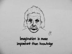 Einstein - Imagination & Knowledge