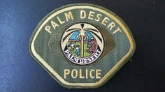 Palm Desert Police, Riverside County Sheriff Contract Agency, Riverside County, California (Current 1998 Issue)