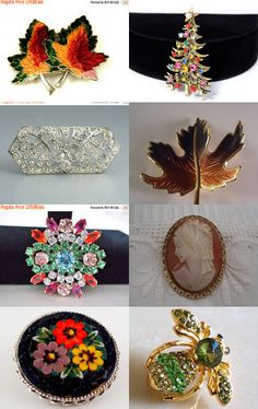 A Brooch for all seasons by Carol Schultz on Etsy--Pinned with TreasuryPin.com