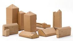cardboard houses by makoto orisaki