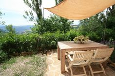 Terras studio La Vallata,vakantiehuis La Valle Verde, Le Marche
