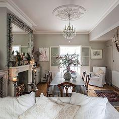 Esszimmer Wohnideen Möbel Dekoration Decoration Living Idea Interiors home dining room - Grau offene Esszimmer