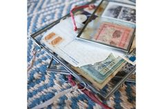 Cadre photo à suspendre gris mat format Portrait, taille L, Nkuku