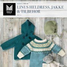 DG359-01 Malene Genser & tights – Dale Garn Knitting For Kids, Girls Sweaters, Ravelry, Knitting Patterns, Raincoat, Tights, Children, Blog, Jackets