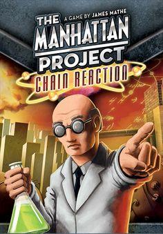 Manhattan Project Chain Reaction - kaartspel