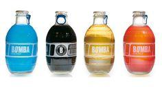 Bomba, packaging bebida energética