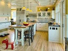 kitchen island and table - Google Search