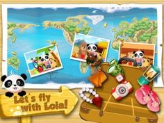 These games are in the top 10 best games for kids - children, in which children can learn while playing games.    Joining Lola Panda as he travels around the world in an adventure game entertaining and educational! Lola visiting friends in different countries to help find dozens of hidden objects along the way.