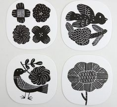 Makoto Kagoshima Plant Illustration, Graphic Design Illustration, Kagoshima, Sgraffito, Linocut Prints, Easy Paintings, Illustrations And Posters, Ceramic Art, Art Decor