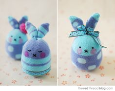 sock bunnies tutorial