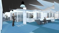 bleuelink - concept interieor design - entrance area