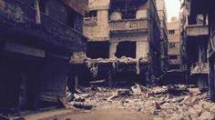 La ciudad Yurmuck La ciudad de Yarmuk ha quedado destruida por la guerra civil en Siria, que ha dejado 240.000 personas muertas.