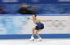 Mao Asada of Japan competes in the women's free skate figure skating finals at the Iceberg Skating Palace during the 2014 Winter Olympics, Thursday, Feb. 20, 2014, in Sochi, Russia. (AP Photo/Bernat Armangue) (1944×1268)