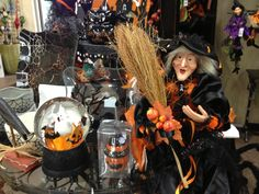 Wicked witches and more Halloween decor at Al's in Woodburn and Sherwood.