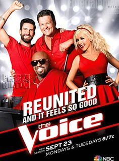The Voice Season 5 Is Almost Here! Check Out The Brand New Poster ...
