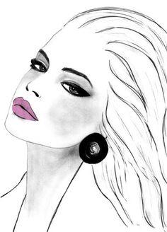 shu84: kornelia dębosz fashion illustrations