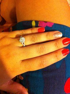 mirabella split shank twist double halo engaged engagement helzberg diamond - Helzberg Wedding Rings