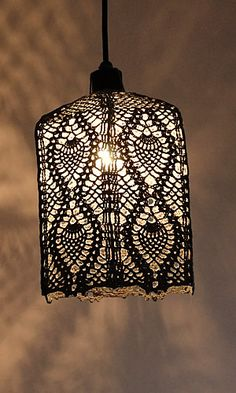 Pineapple lampshade - pattern