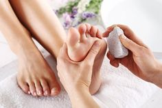 Get rid of #calluses by using a #pumicestone on your feet.