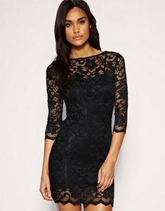 Shows just enough to make them crazy. Diy Dress, Dress Skirt, Dress Up, Lace Dress Pattern, Dress Patterns, Bandeau Dress, Looks Plus Size, Lace Party Dresses, Looks Cool