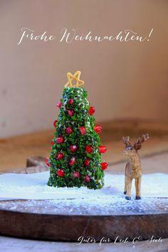 Gutes für Leib & Seele: Ziegenfrischkäse-Weihnachtsbaum