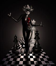 Chess Queen by MskyCarmen on DeviantArt