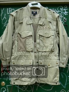 118fb90a274a ZONE7STYLE  Vintage Wills and Geiger Skeleton Coast Photojournalists Camera  Jacket